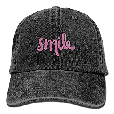 HAIRUIYD Smile Baseball Cap Boys Girls Creative Snapback Hip Hop Flat Hat Adjustable One Size
