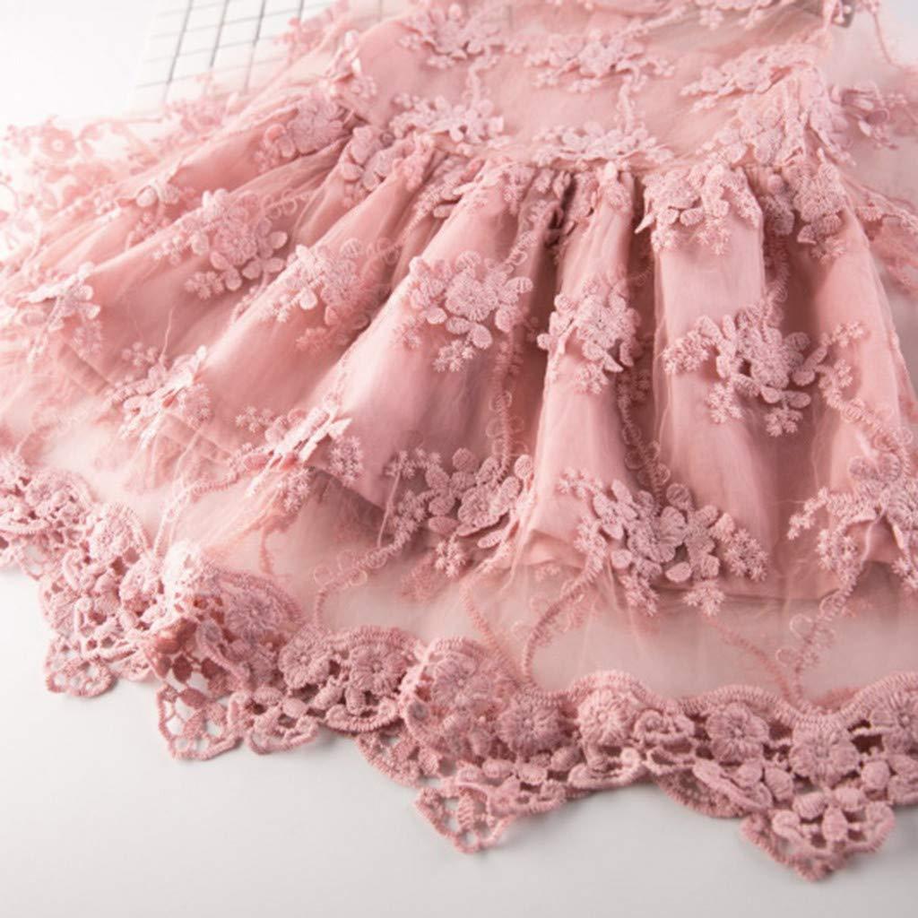 Enfant en Bas /âge Enfants Broderie Tulle Longues Manches de Flare Robe de mari/ée Mariage Princesse Tonsee  Robes Filles B/éb/é