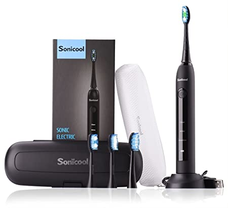 Review Sonicool Sonic Electric Toothbrush