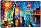 iCanvasART Melody of the Night Canvas Print, 40'' x 1.5'' x 60''