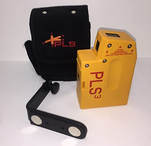 PLS3 3-Point Red Beam Laser Level PLS-60523 by Pacific Laser Systems