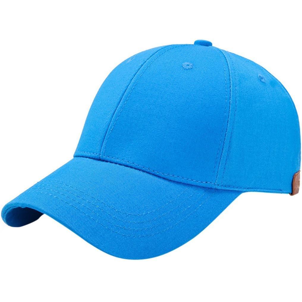 ALIKEEY 2018 Women Ponytail Baseball Cap Pure Color Messy Bun Snapback Hat Sun Caps