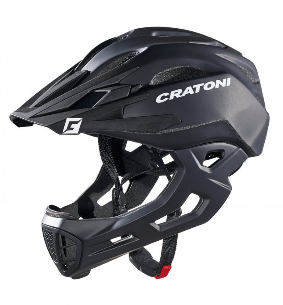 Fahrradhelm Cratoni C-Maniac (Freeride), Gr. M L (54-58cm) schwarz matt