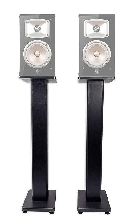 Pair 36quot Bookshelf Speaker Stands Yamaha NS 333 Speakers