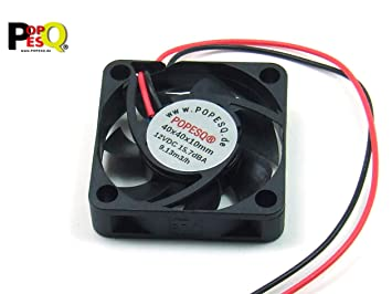 POPESQ® 1 Piezas x Ventilador Super Silencioso 12V 40mm x 40mm x ...
