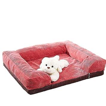 General Desmontaje y lavado marrón perro gatos mascotas gatos perros cojines cojines perro sofá sofá camas: Amazon.es: Hogar