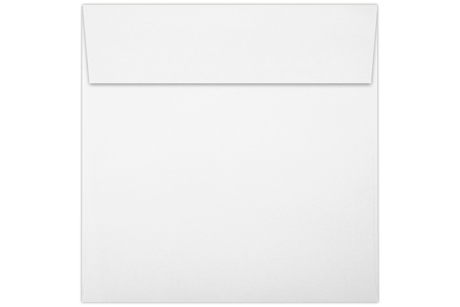 6 x 6 Square Envelopes w/Peel & Press - 80lb. Bright White (1,000 Qty.) | Perfect For Invitations, Thank You Notes, RSVPs, Greeting Cards, Weddings or any Announcement | 80lb Text Paper | 8525-80W-1M