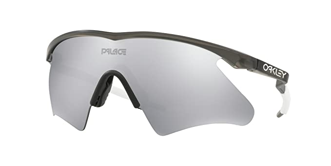800555bcd4 Image Unavailable. Image not available for. Color  OAKLEY 9435-943501  SUNGLASSES MATTE GREY SMOKE CHROME IRIDIUM 0MM