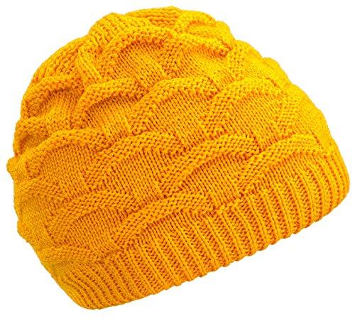 4sold taglia Winter Berretti Cravatta Poked Girl Made Bonnet Fala Unica Poland Skullies In per Yellow più con colori rqrwxpH