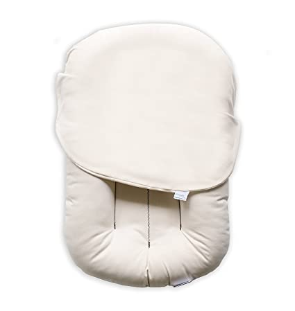 Snuggle Me Organic | The Original Baby Lounger, Infant Co-Sleeping Cushion, Portable