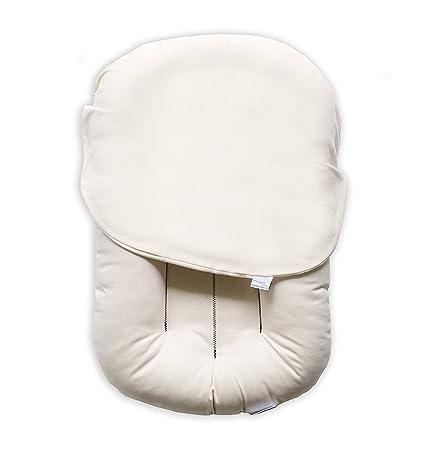 Snuggle Me Organic | The Original Baby Lounger, Infant Co-Sleeping Cushion, Portable