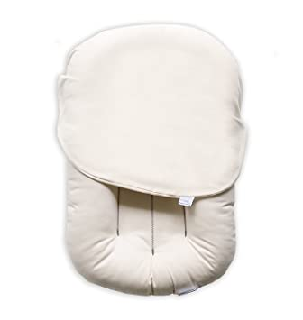 Bassinets & Cradles Baby Snuggle Me Organic Infant Lounger With Cover In Bloom