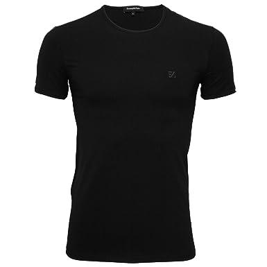ebdd1460 Amazon.com: Ermenegildo Zegna Stretch Cotton Crew-Neck Men's T-Shirt ...