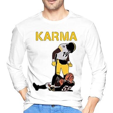 16610e7f8 Amazon.com  Steelers Karma Juju Smith-Schuster Vontaze Burfict Soft T Shirt  for Men  Clothing