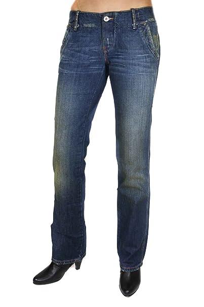 Diesel Mujer Pantalones vaqueros Cheebon 0082H Azul (W24/L32 ...