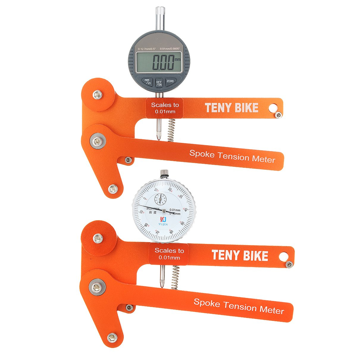 LaDicha Bikight Speiche Spannung Meter Tensiometer Fahrrad Wheel Builder Tool Digital Scale-002