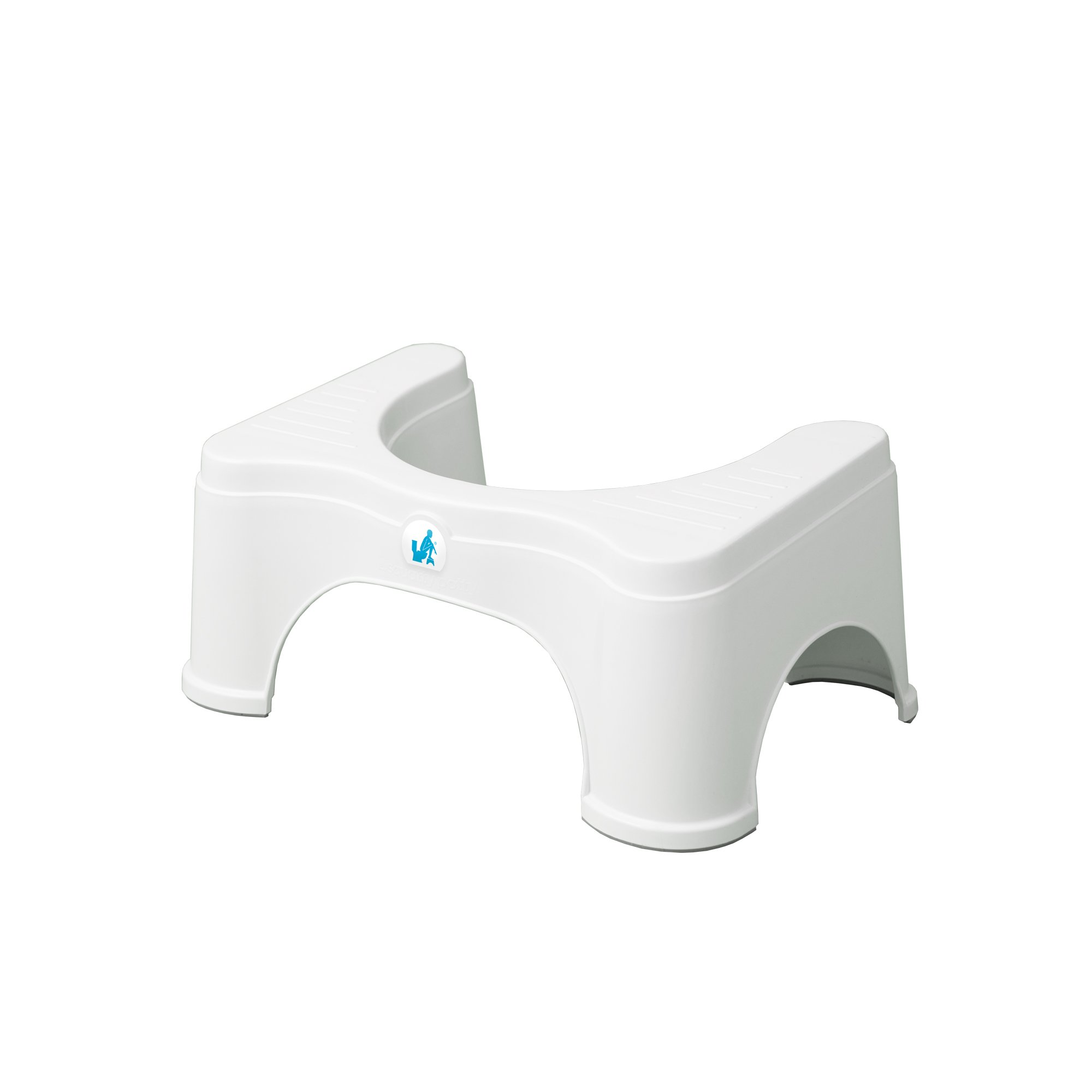 Squatty Potty The Original Bathroom Toilet Stool - Adjustable 2.0, Convertible to 7 inch or 9 inch Height, White by Squatty Potty (Image #4)