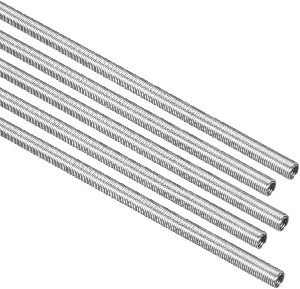 uxcell Heating Element Coil Wire AC220V 1500W / AC110V 375W Kiln Furnace Heater Wire 5.8mm 560mm 5PCS