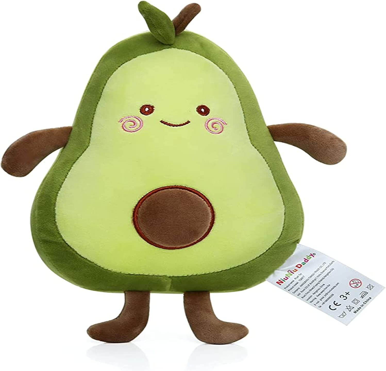 Dad's 12-inch Plush Animal Avocado Plush Toy, Soft Kawaii Food, Special-Shaped Fruit Series, hugs Children's Toys...