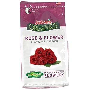 Jobe's 09423 Organics Flower & Rose Granular Fertilizer