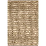 Safavieh Bohemian Collection BOH525F Hand-Knotted Beige and Multi Jute Area Rug (2′ x 3′) Review