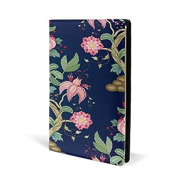 Funda para libro Flores
