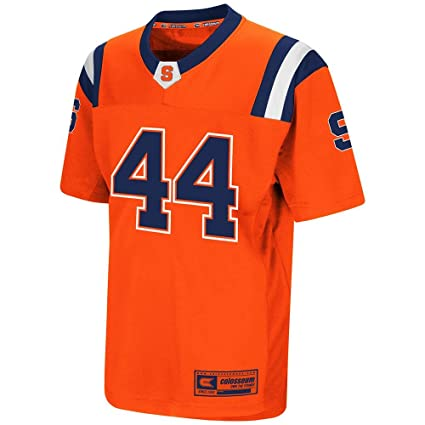 wholesale dealer 76dd8 58475 Amazon.com : Colosseum Youth Syracuse Orange Football Jersey ...