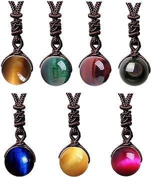 Tigereye bead and pendant set