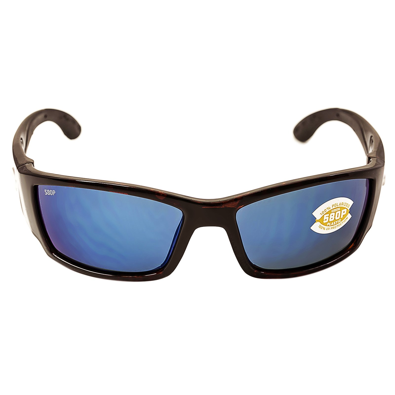 Costa Del Mar Corbina Sunglasses, Tortoise, Blue Mirror 580P Lens