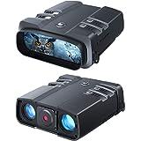 VABSCE 2021 Night Vision Binoculars, 1080p Full HD, 1640ft Viewing Range, Superior 5W Infrared, High Sensitivity COMS Sensor
