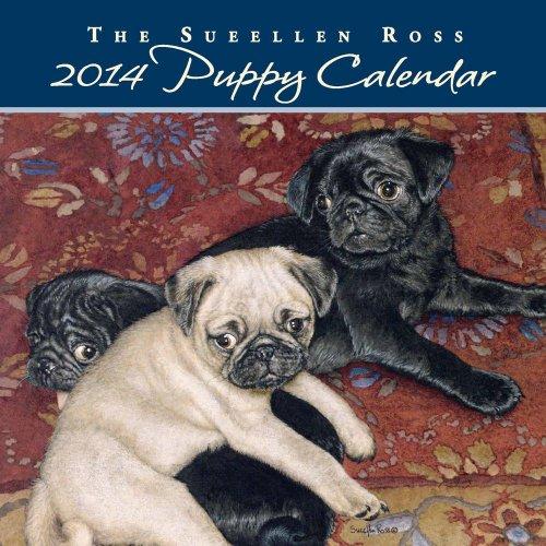 Dog 2014 Mini Calendar - Sueellen Ross Puppy 2014 Mini Wall Calendar