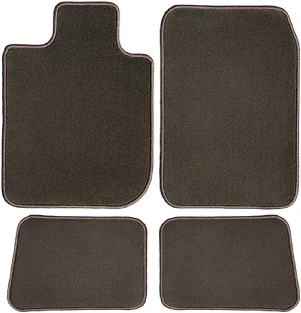 2013 Chocolate Brown Driver 2012 2011 2009 GG Bailey BMW 1-Series Coupe 2008 2010 Passenger /& Rear Floor Mats