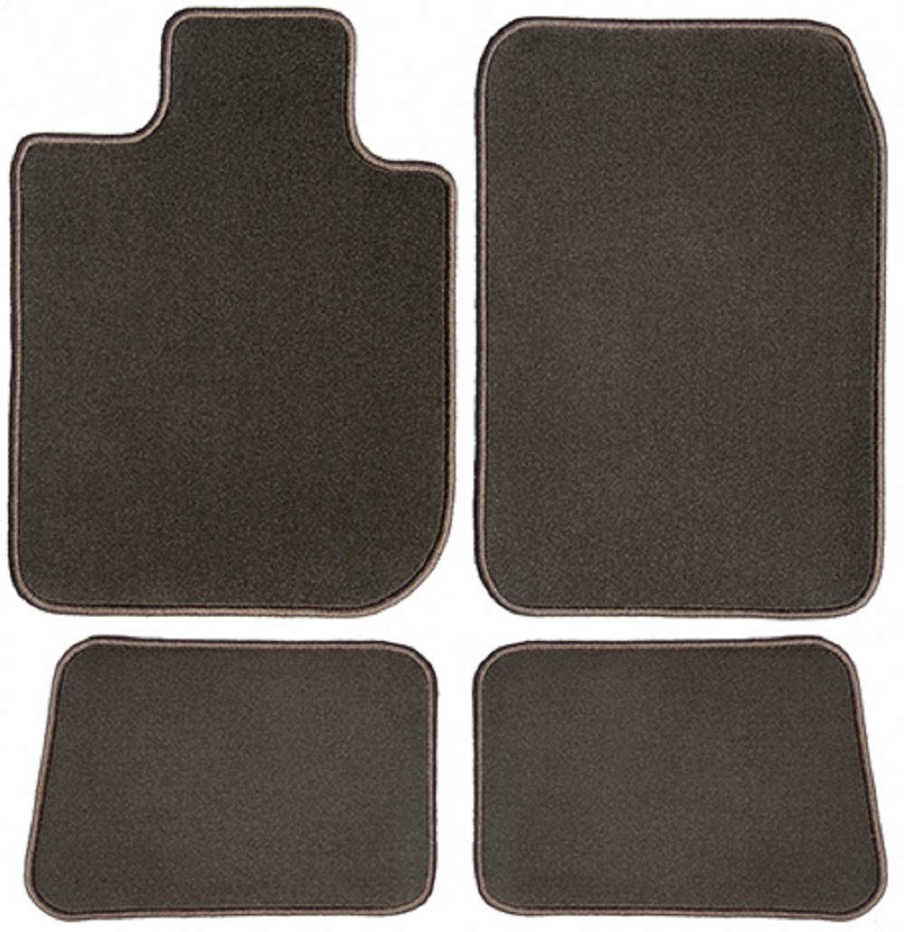 2014 2015 2019 Cadillac ATS Sedan Black with Red Edging Driver /& Passenger Floor 2016 2018 2017 GGBAILEY D50542-F1A-BLK/_BR Custom Fit Car Mats for 2013