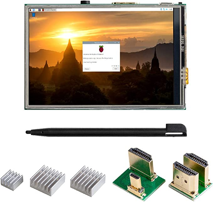 Amazon.com: UCTRONICS 3.5 Inch Touch Screen for Raspberry Pi 4, HDMI TFT LCD Mini Display with Stylus Pen for Pi 4 B, 3 B+: Computers & Accessories