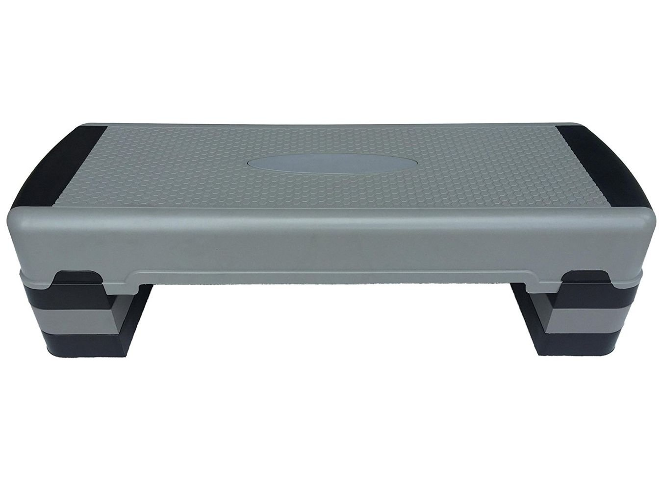 KLB Sport 36'' Adjustable 6''-8''-10'' Workout Aerobic Stepper In Fitness & Exercise W/4 Risers