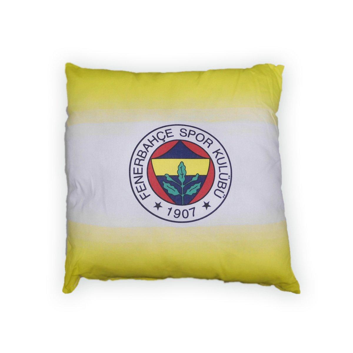 Kissen Fenerbahce Istanbul 40x40 cm Striped Fenerbah/çe yastık kırlent original lizenziert