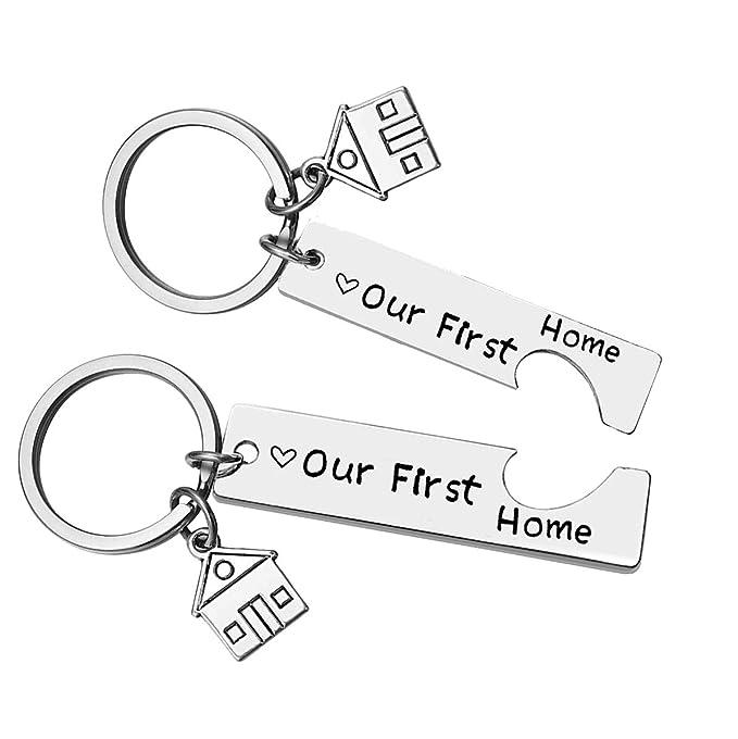 Amazon.com: Nuestro primer llavero para el hogar nuevo ...