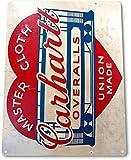 TIN-SIGN-Carhartt-Overalls-Metal-Decor-Art-Kitchen-Store-Farm-Ranch-Bar-A273