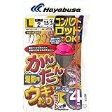 ハヤブサ(Hayabusa) コンパクトロッド 簡単ウキ釣りセット(堤防用) L HA176