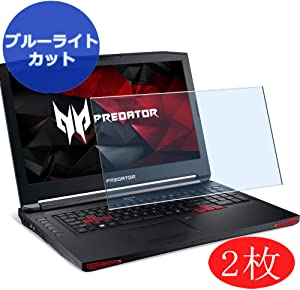 """【2 Pack】 Synvy Anti Blue Light Screen Protector for Acer Acer Predator 17 X Gx-791 / Gx-792 17.3"""" Screen Film Protective Protectors [Not Tempered Glass]"""