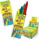 Crayon Cire Enfant Pochette Surprise Enfant 4 par Paquet 10 paquets
