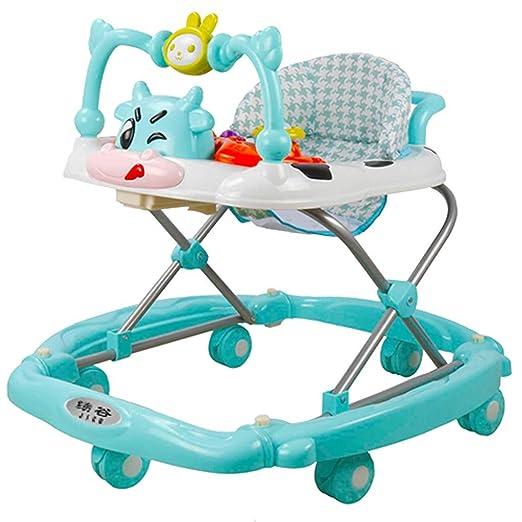 Baby Walkers Multifuncional Andador para bebé, Plegable y ...