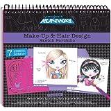 Fashion Angels Project Runway Make-Up Design Sketch Portfolio