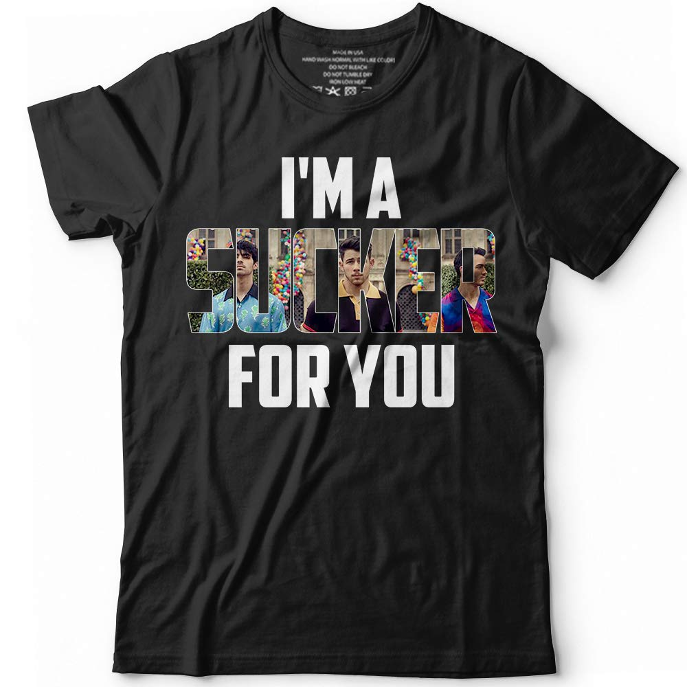 Imma Sucker For You Jonas Fans Customized Tshirt Tank Top