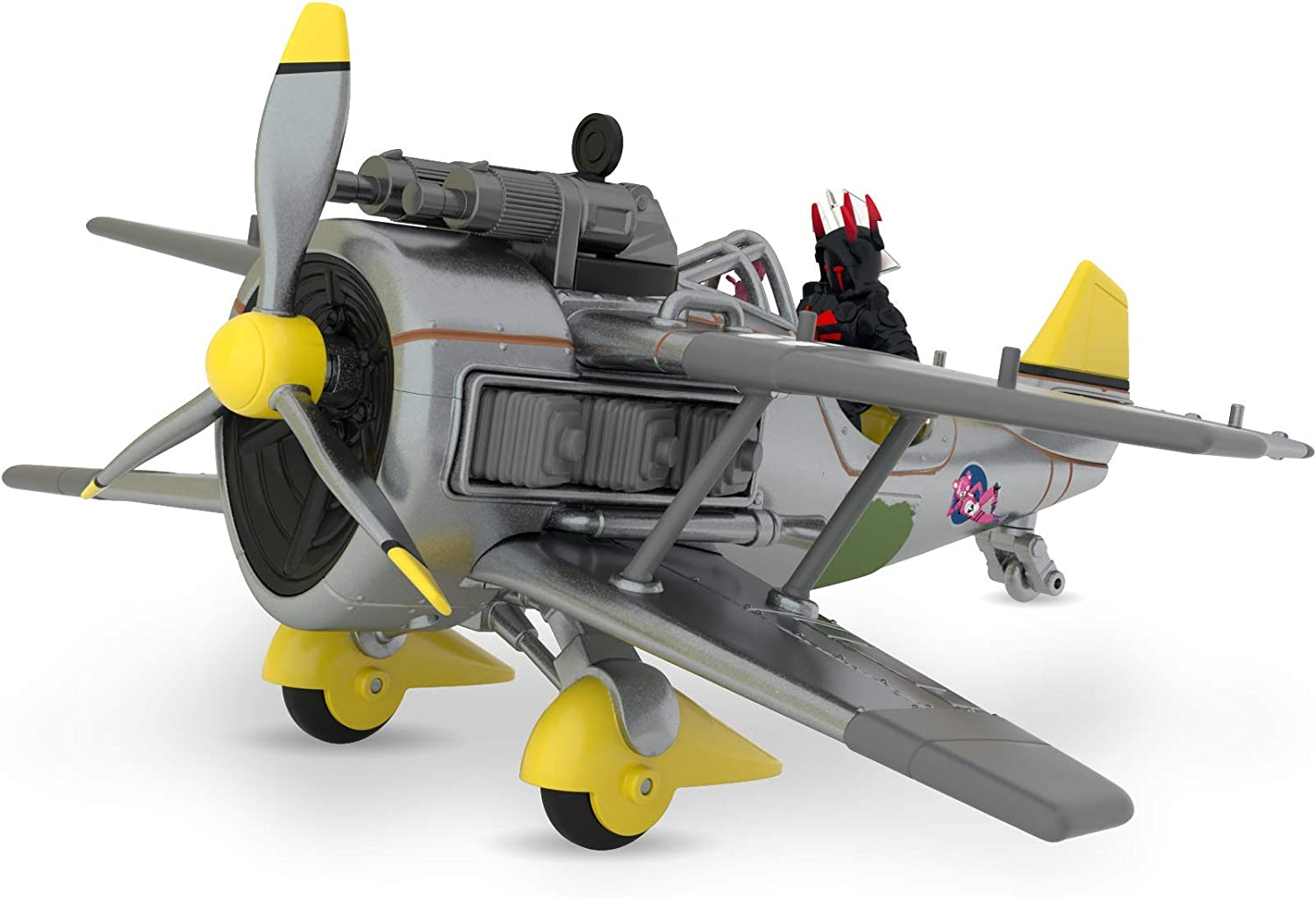 """Fortnite X-4 Stormwing Plane /& Ice King Figure Battle Royale Collection 10/"""" Wing"""