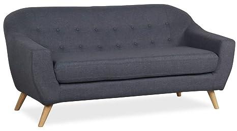 Lo + deModa Coushto sofá de 3 plazas Part, Espuma D28/Lino ...