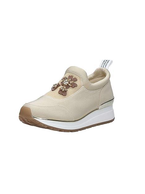 liu jo - Zapatillas para Mujer Beige Neutro: Amazon.es: Zapatos y complementos