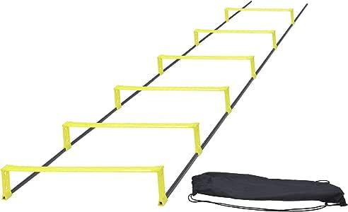 Rhinos Sports - Escalera de obstáculos (2 m, incluye bolsa de transporte): Amazon.es: Deportes y aire libre