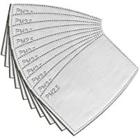 EAGLCT ES-Filters-EG-001 PM2.5 5 Filtro de carbón activado vertido, filtro de respiración intercambiable, 12 cm x 8cm…