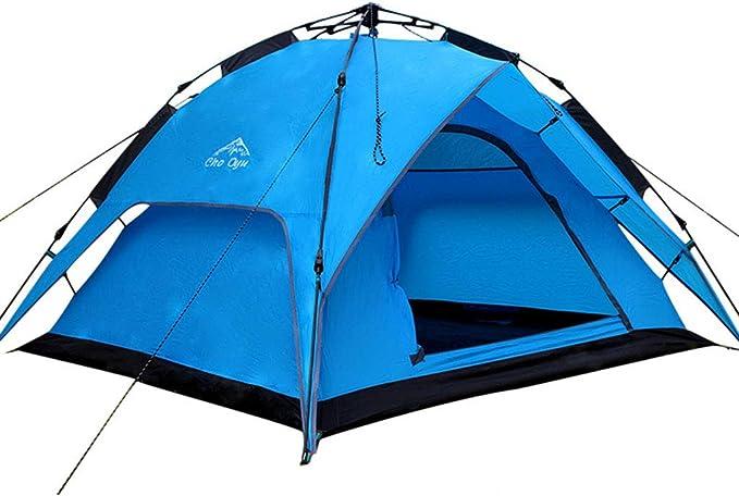 JINGQI Camping al Aire Libre Tienda de 3~4 Gente saca la ...